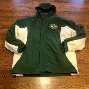 NWOT NFL Jets football coat XL High Quality!